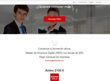 Web Máster en Empresa Digital ITED