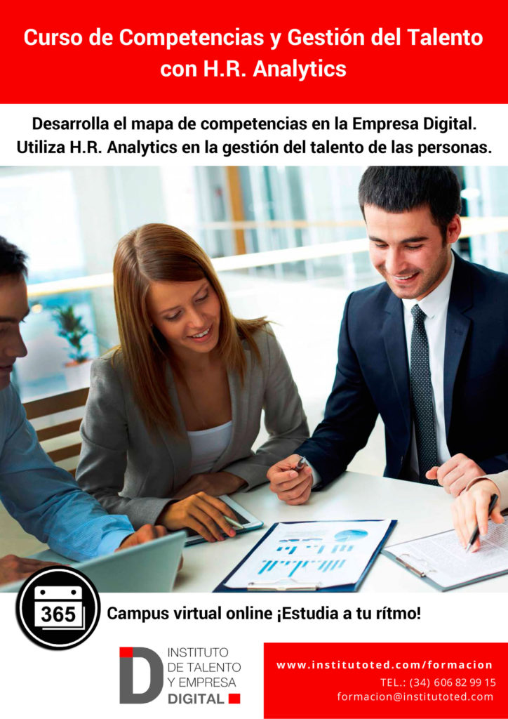 Curso de Gestion del talento Digital con HR Analytics